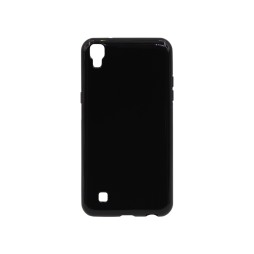 LG X Power - Gumiran ovitek (TPU) - črn svetleč