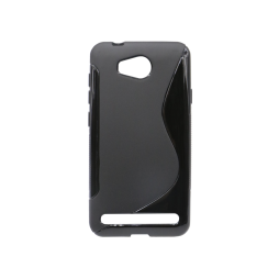 Huawei Y3 II - Gumiran ovitek (TPU) - črn SLine
