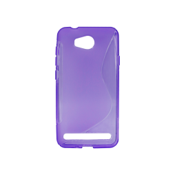 Huawei Y3 II - Gumiran ovitek (TPU) - vijolično-prosojen SLine