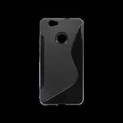 Huawei nova - Gumiran ovitek (TPU) - črn SLine
