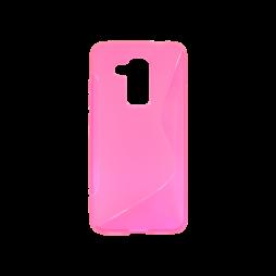Huawei nova plus - Gumiran ovitek (TPU) - roza-prosojen SLine