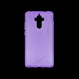 Huawei Mate 9 - Gumiran ovitek (TPU) - vijolično-prosojen SLine