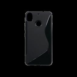 HTC Desire 10 Pro - Gumiran ovitek (TPU) - črn SLine