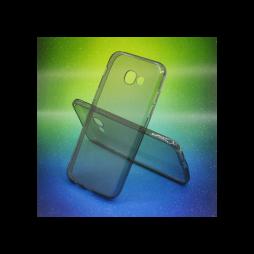 Samsung Galaxy A5 (2017) - Gumiran ovitek (TPUA) - sivo-prosojen