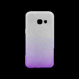 Samsung Galaxy A3 (2017) - Gumiran ovitek (TPUB) - vijolična