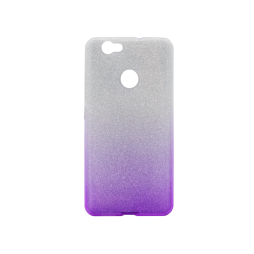 Huawei nova - Gumiran ovitek (TPUB) - vijolična