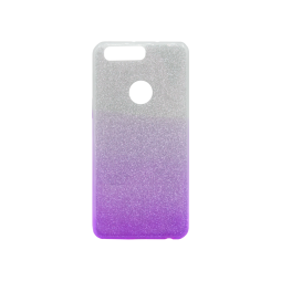 Huawei Honor 8 - Gumiran ovitek (TPUB) - vijolična