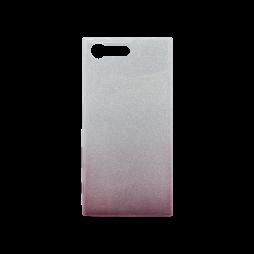 Sony Xperia X Compact - Gumiran ovitek (TPUB) - kavna