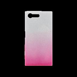 Sony Xperia X Compact - Gumiran ovitek (TPUB) - roza