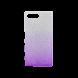 Sony Xperia X Compact - Gumiran ovitek (TPUB) - vijolična