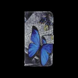 Sony Xperia XA - Preklopna torbica (WLGP) - Blue butterfly 2
