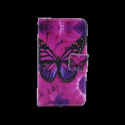 Samsung Galaxy J1 (2016) - Preklopna torbica (WLGP) - Purple butterfly