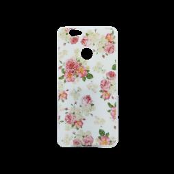 Huawei nova - Gumiran ovitek (TPUP) - Flowers