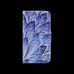 Huawei nova - Preklopna torbica (WLGP) - Blue leafs