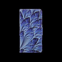 Sony Xperia XA - Preklopna torbica (WLGP) - Blue leafs