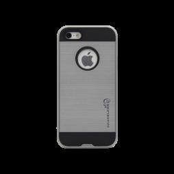 Apple iPhone 5/5S/SE - Gumiran ovitek (ARM-01) - siv
