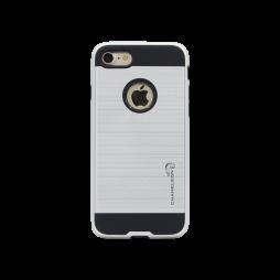 Apple iPhone 7/8 - Gumiran ovitek (ARM-01) - srebrn