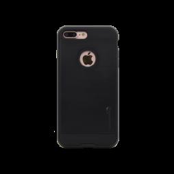 Apple iPhone 7 Plus/8 Plus - Gumiran ovitek (ARM-01) - črn