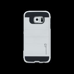 Samsung Galaxy S6 - Gumiran ovitek (ARM-01) - srebrn