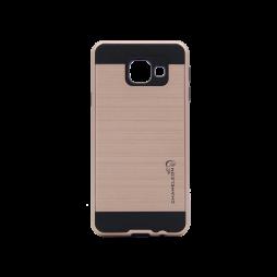 Samsung Galaxy A3 (2016) - Gumiran ovitek (ARM-01) - roza-zlat