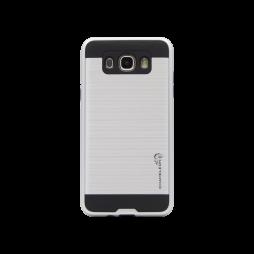 Samsung Galaxy J7 (2016) - Gumiran ovitek (ARM-01) - srebrn