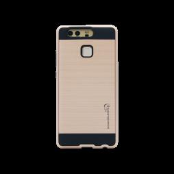 Huawei P9 - Gumiran ovitek (ARM-01) - roza-zlat
