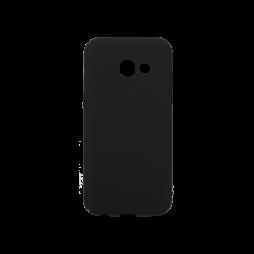 Samsung Galaxy A3 (2017) - Okrasni pokrovček (65) - črn