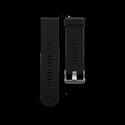 Silikonski pašček Garmin Fenix 3 / 3 HR (26mm) - črn