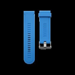Silikonski pašček Garmin Fenix 3 / 3 HR (26mm) - moder