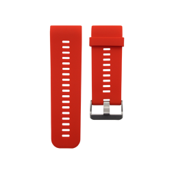 Silikonski pašček Garmin Vivoactive HR - rdeč