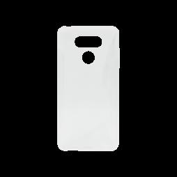 LG G6 - Gumiran ovitek (TPU) - belo-prosojen SLine