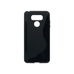 LG G6 - Gumiran ovitek (TPU) - črn SLine