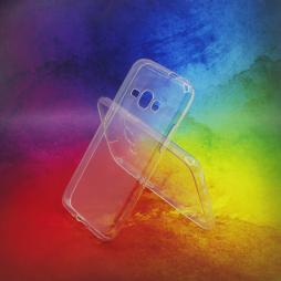 Samsung Galaxy J1 (2016) - Gumiran ovitek (TPUA) - prosojen