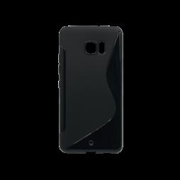 HTC U Ultra - Gumiran ovitek (TPU) - črn SLine