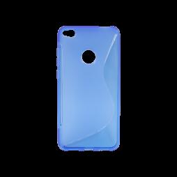 Huawei Honor 8 Lite/8 Lite (2017)/P9 Lite (2017)/ Nova Lite - Gumiran ovitek (TPU) - modro-prosojen SLine