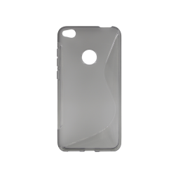 Huawei Honor 8 Lite/8 Lite (2017)/P9 Lite (2017)/ Nova Lite - Gumiran ovitek (TPU) - sivo-prosojen SLine