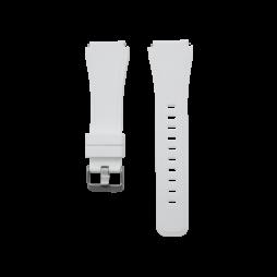 Silikonski pašček Samsung Gear S3 (22mm) - bel