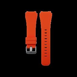 Silikonski pašček Samsung Gear S3 (22mm) - oranžen
