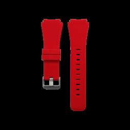 Silikonski pašček Samsung Gear S3 (22mm) - rdeč