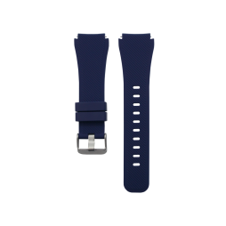 Silikonski pašček Samsung Gear S3 (22mm) - temno moder