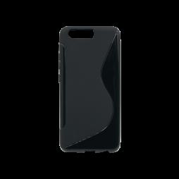 Huawei P10 - Gumiran ovitek (TPU) - črn SLine