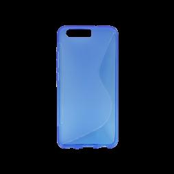Huawei P10 - Gumiran ovitek (TPU) - modro-prosojen SLine