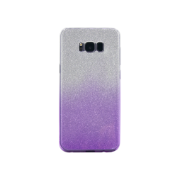 Samsung Galaxy S8+ - Gumiran ovitek (TPUB) - vijolična