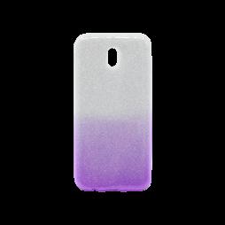 Samsung Galaxy J7 (2017) - Gumiran ovitek (TPUB) - vijolična