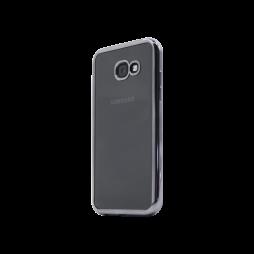Samsung Galaxy A3 (2017) - Gumiran ovitek (TPUE) - rob črn
