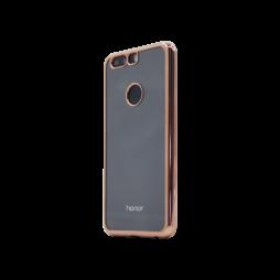 Huawei Honor 8 - Gumiran ovitek (TPUE) - rob roza-zlat