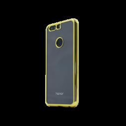 Huawei Honor 8 - Gumiran ovitek (TPUE) - rob zlat