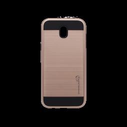 Samsung Galaxy J7 (2017) - Gumiran ovitek (ARM-01) - roza-zlat