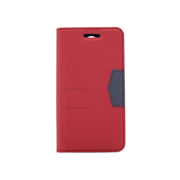 LG K8 (2017) - Preklopna torbica (47G) - rdeča
