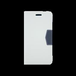 LG K10 (2017) - Preklopna torbica (47G) - bela
